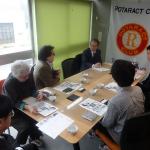 東京日野ローターアクトクラブにて、事務局長の芝田よりフードバンクTAMAの現状と課題、及びこれまでの実績について説明させていただきました(2016/11/19)