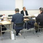 第4回理事会を昨年12/22に、第5回理事会を2017/1/13に開催しました。