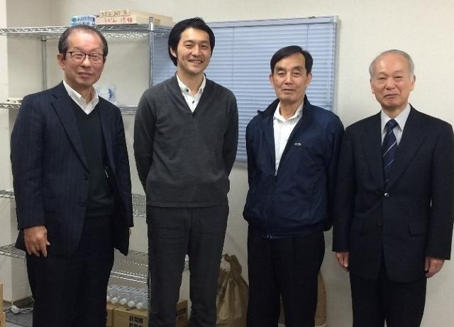 「育て上げネット」の工藤理事長が当フードバンクTAMAに(2017/4/11)