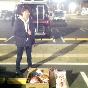 東村山西高校で高校生中心のフードドライブ、食品25キロをご寄付いただきました。(2018/2/16)