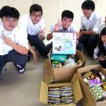 都立山崎高校の文化祭(9/8-9)においてフードドライブ